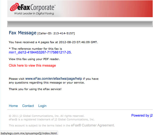 The Daily Scam   eFax