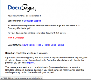 Docusign pdf