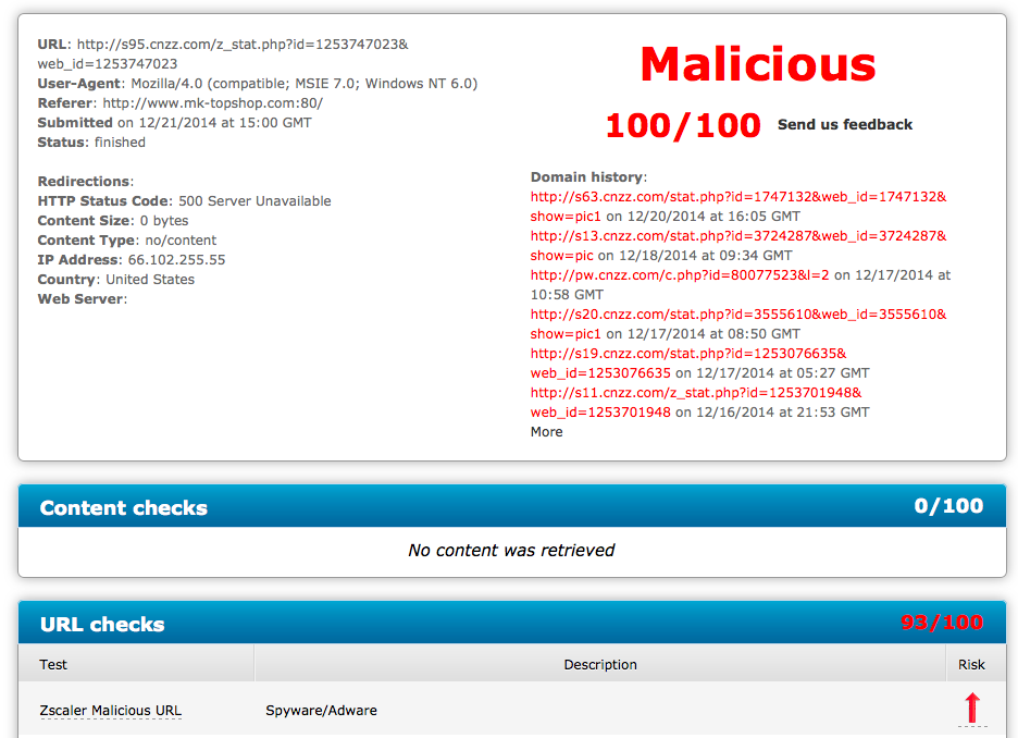 iPhone scam cnzz-com