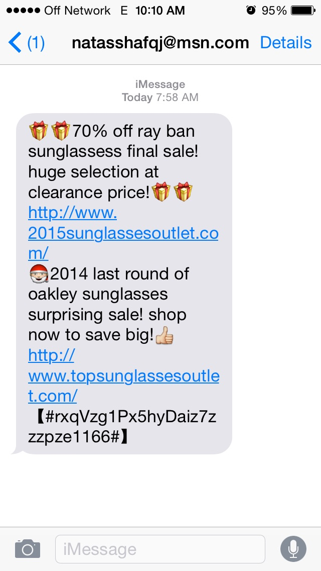 Craigslist Email Scams >> The Daily Scam | iPhone Text Scampaign