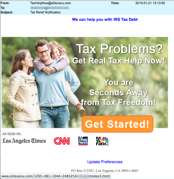 3-Tax problems -get help here