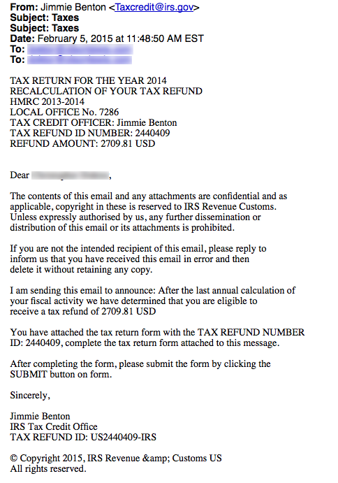 4-Tax return for 2014