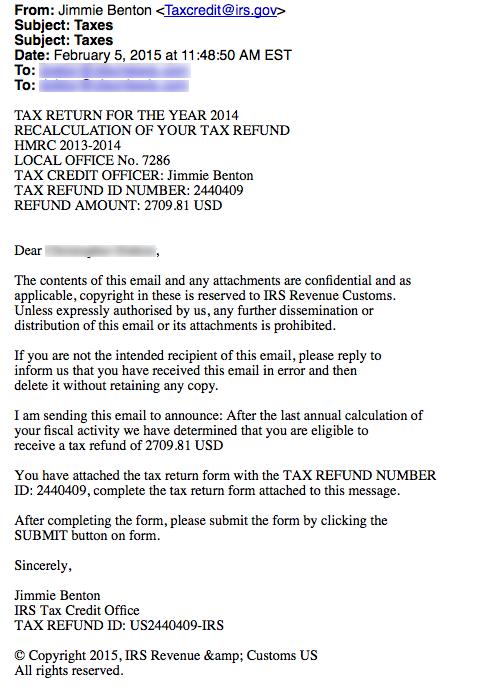 4-Tax return for 2014