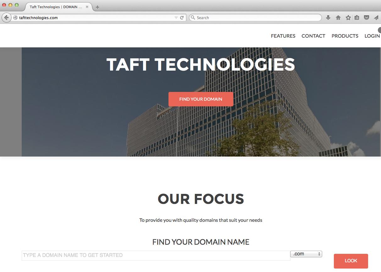 10-Taft Technologies main page 6-28-15