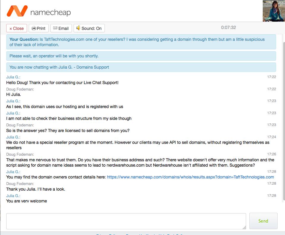 12-NameCheap tech support chat 6-30-15