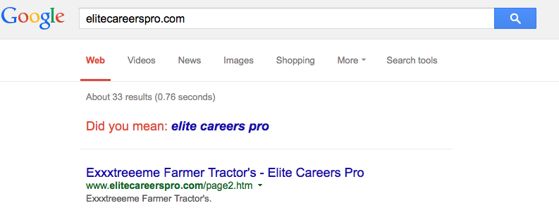 5-elitecareerspro on Google