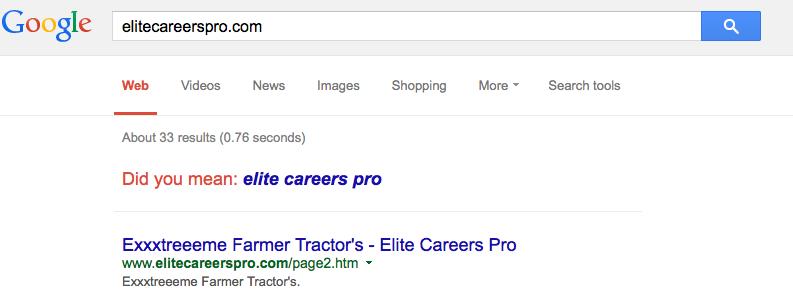 5-elitecareerspro on Google