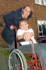 1-Cole and Mum