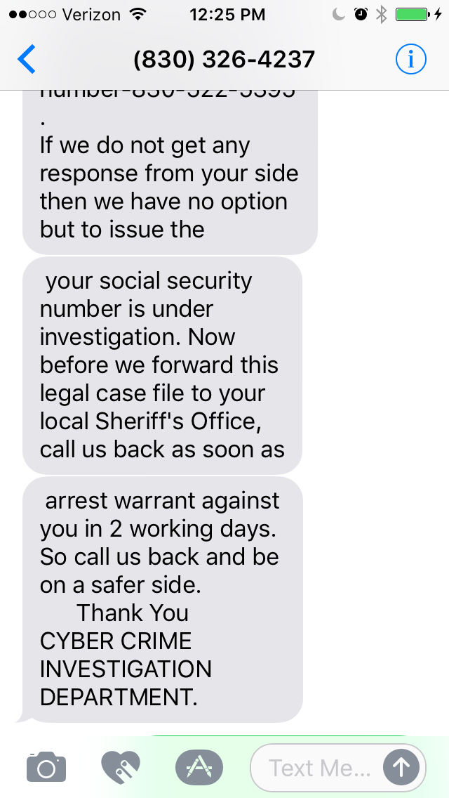 Cyber Crime Investigation Against You The Daily Scam