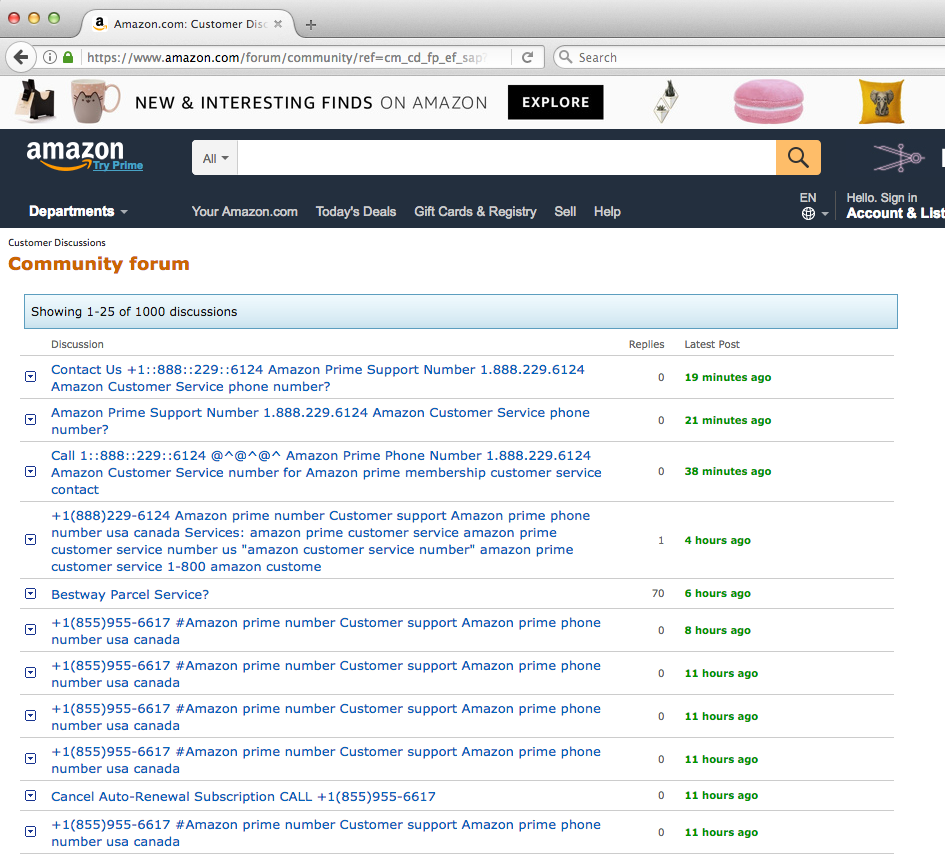 Amazon Customer Support Scams | The Daily Scam