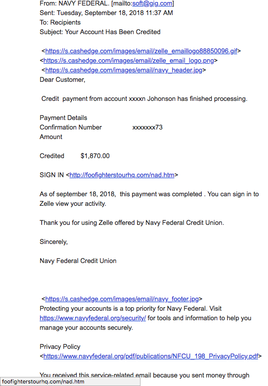The Daily Scam | October 3, 2018