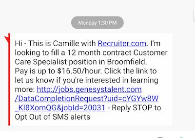 Job Interviews In Google Hangouts The Daily Scam