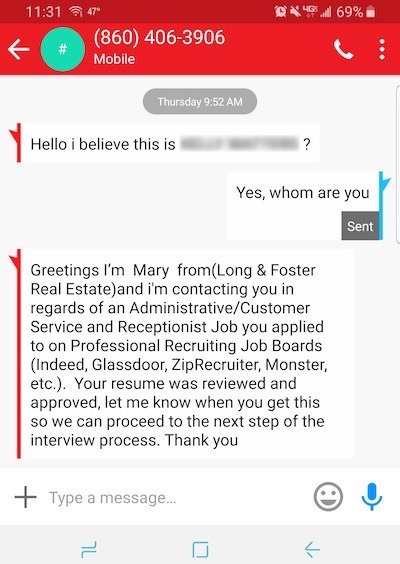 The Daily Scam | Job Interviews In Google Hangouts