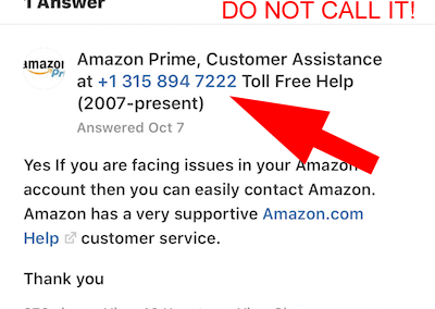Amazon Customer Support Scams The Daily Scam